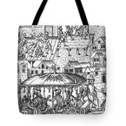 Henry Iv Of France Tote Bag
