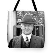Herbert Hoover - President Of The United States Of America - C 1924 Tote Bag