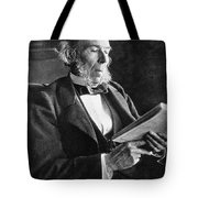 Herbert Spencer, English Polymath Tote Bag by Science Source