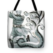 Hercules Of The Union, 1861 Tote Bag