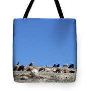 Herd In The Atlas Mountains 02 Tote Bag