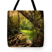 Here There Be Gnomes Tote Bag