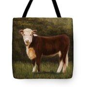 Hereford Heifer Tote Bag