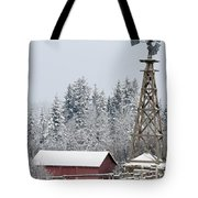 Heritage Park Historical Village Tote Bag by Michael Interisano