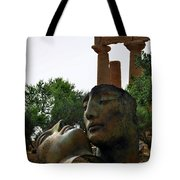 'hermanos' In The Valley Of The Temples Tote Bag