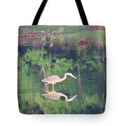 Heron Reflections1 Tote Bag