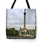 Heros Square - Budapest Tote Bag