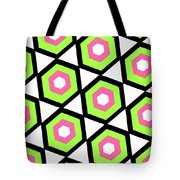 Hexagon Tote Bag by Louisa Knight