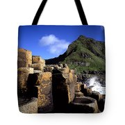 Hexagonal Columns At The Giants Tote Bag