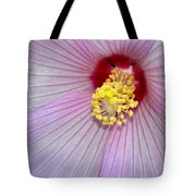 Hibiscus Closeup Tote Bag