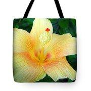 Hibiscus Hip Tote Bag