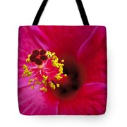 Hibiscus Macro Tote Bag by Joe Carini - Printscapes
