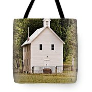 Hidden Church Tote Bag
