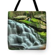Hidden Elakala Falls Tote Bag