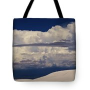 Hidden Mountains In The Shadows Of The Storm Tote Bag