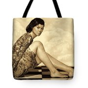 Hidden Secrets - Sepia Tote Bag