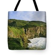 High Angle View Of A Coast, County Tote Bag