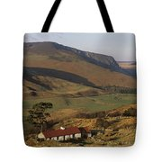 High Angle View Of A House, County Tote Bag