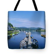 High Angle View Of Rowboats In The Tote Bag
