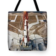 High-angle View Of The Apollo 10 Space Tote Bag