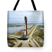 High Angle View  Of The Apollo 14space Tote Bag
