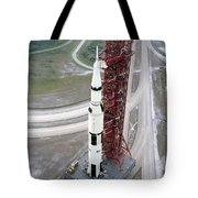 High Angle View  Of The Apollo 15 Space Tote Bag