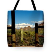 High Chaparral Old Tuscon Arizona  Tote Bag