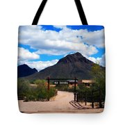 High Chaparral Ranch Tote Bag