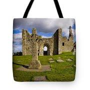 High Cross At Clonmacnoise, County Tote Bag