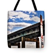 High In The Skyway Tote Bag