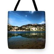 High Mountain Paradise Tote Bag