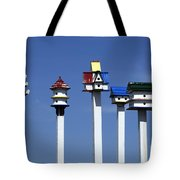 High Rent District Tote Bag