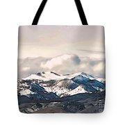 High Sierra Mountains Tote Bag