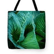 High Summer Cabbage Tote Bag