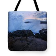 High Tide At Dusk Tote Bag