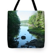 High Tide In Maine Part Of A Series Tote Bag