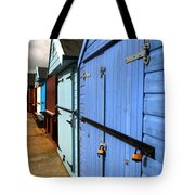 Highcliffe Beach Huts Tote Bag