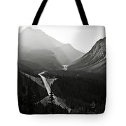 Highway 93a Tote Bag