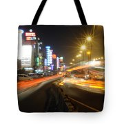 Highway And Hotels Tote Bag
