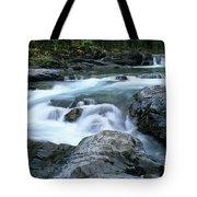 Highwood River Tote Bag by Bob Christopher