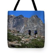Hiking In Jasper Tote Bag