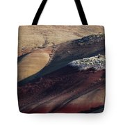 Hiking In The Painted Hills Tote Bag