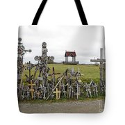 Hill Of Crosses 01. Lithuania Tote Bag
