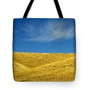 Hills And Clouds, Cypress Hills Tote Bag by Mike Grandmailson