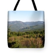 Hills And Trees Tote Bag