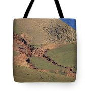 Hillside Erosion Caused By Run Tote Bag