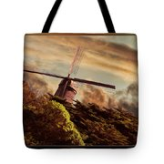 Hillside Windmill Tote Bag