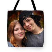 Him 'n Her - Young Lovers Tote Bag
