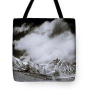 Himalayan Mountain Range Tote Bag