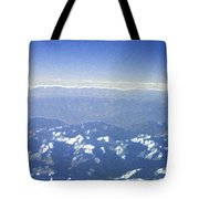 Himalayas Blue Tote Bag